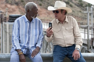 Morgan Freeman en Tommy Lee Jones in Just Getting Started