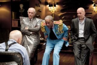 Morgan Freeman, John Malkovich en Bruce Willis in RED
