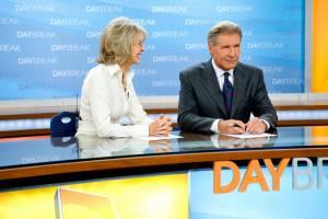 Morning Glory: Harrison Ford (Mike Pomeroy) en Diane Keaton (Colleen Peck)