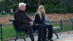 Mr. Morgan's Last Love: Michael Caine (Matthew Morgan) en Clémence Poésy (Pauline Laubie)