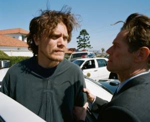 My Son, My Son, What Have Ye Done: Willem Dafoe (Detective Hank Havenhurst) en Michael Shannon (Brad McCullum)