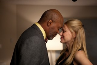 Samuel L. Jackson en Naomi Watts in Mother and Child