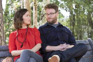 Neighbors 2: Sorority Rising: Rose Byrne (Kelly Radner) en Seth Rogen (Mac Radner)