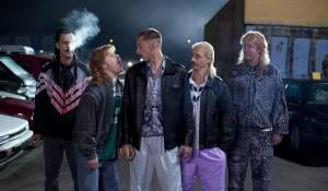 New Kids Nitro: Flip Van der Kuil (Barrie Butsers), Tim Haars (Gerrie van Boven), Wesley van Gaalen (Rikkert Biemans), Huub Smit (Richard Batsbak) en Steffen Haars (Robbie Schuurmans)