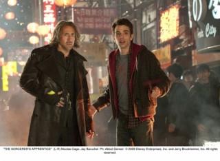 Nicolas Cage en Jay Baruchel in The Sorcerer's Apprentice