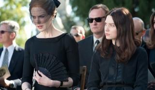 Nicole Kidman en Mia Wasikowska in Stoker