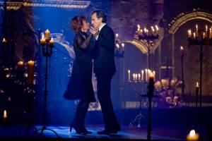 Nine: Daniel Day-Lewis (Guido Contini) en Sophia Loren (Mamma)