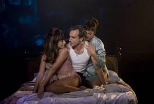Nine: Marion Cotillard (Luisa Contini), Penélope Cruz (Carla) en Daniel Day-Lewis (Guido Contini)