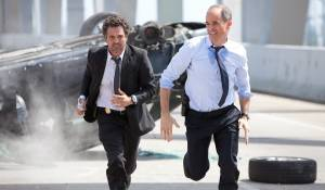 Now You See Me: Michael Kelly (Agent Fuller) en Mark Ruffalo (Dylan Hobbs)
