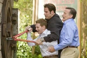 Old Dogs: Seth Green, John Travolta en Robin Williams