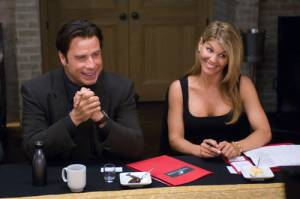Lori Loughlin en John Travolta