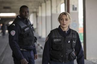 Omar Sy en Virginie Efira in Police