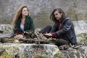 Ondine: Alicja Bachleda-Curus (Ondine) en Colin Farrell (Syracuse)