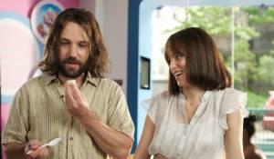 Our Idiot Brother: Elizabeth Banks (Miranda) en Paul Rudd (Ned)