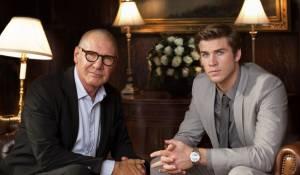 Paranoia: Harrison Ford (Jock Goddard) en Liam Hemsworth (Adam Cassidy)