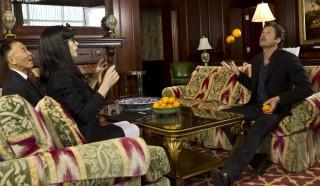Hiromi Tojo, Wendy Van Dijk en Patrick Dempsey in Ushi Must Marry