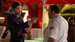 Paul Blart: Mall Cop 2: Kevin James (Paul Blart) en Eduardo Verástegui (Eduardo Furtillo)