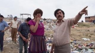 Penélope Cruz en Javier Bardem in Escobar