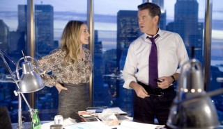Sarah Jessica Parker en Pierce Brosnan in I Don't Know How She Does It