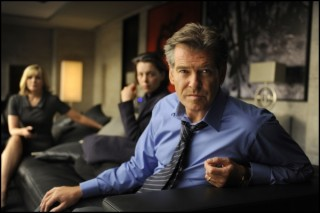 Pierce Brosnan in The Ghost Writer