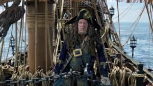 Pirates of the Caribbean: Salazar's Revenge: Geoffrey Rush (Barbossa)