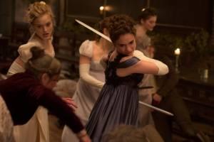 Pride and Prejudice and Zombies: Bella Heathcote (Jane Bennet) en Lily James (Elizabeth Bennet)