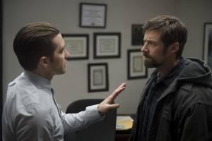 Prisoners: Jake Gyllenhaal (Detective Loki) en Hugh Jackman (Keller Dover)