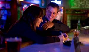 Promised Land: Rosemarie DeWitt (Alice) en Matt Damon (Steve Butler)