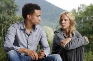 Quand on a 17 ans: Corentin Fila (Thomas Charpoul) en Sandrine Kiberlain (Marianne Delille)