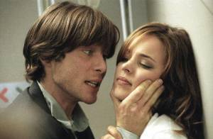 Red-Eye: Rachel McAdams (Lisa Reisert) en Cillian Murphy (Jackson Rippner)