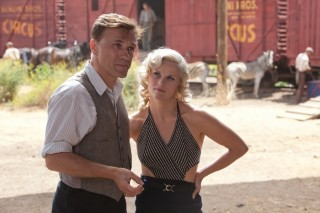 Christoph Waltz en Reese Witherspoon in Water for Elephants