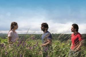 Retour en Bourgogne: Ana Girardot (Juliette), François Civil (Jérémie) en Pio Marmaï (Jean)