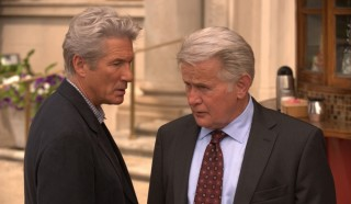 Richard Gere en Martin Sheen in The Double (2012)