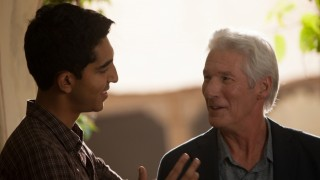Dev Patel en Richard Gere in The Second Best Exotic Marigold Hotel