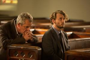 Danny Huston (Peter) en Johnny Depp (Richard)
