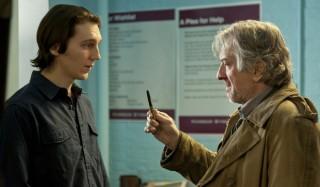 Paul Dano en Robert De Niro in Being Flynn