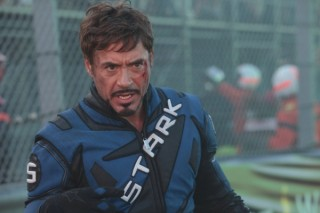 Robert Downey Jr. in Iron Man 2