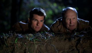 Tom Cruise en Robert Duvall in Jack Reacher