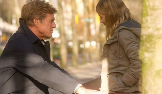 Robert Redford en Brit Marling in The Company You Keep