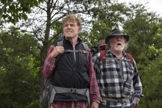 Robert Redford en Nick Nolte in A Walk in the Woods