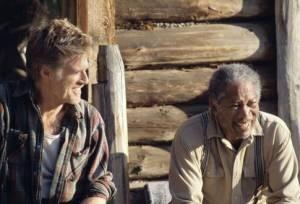 Morgan Freeman en Robert Redford in An Unfinished Life