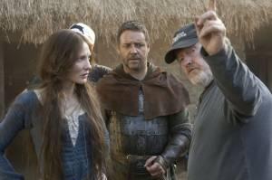 Cate Blanchett (Marion Loxley) en Russell Crowe (Robin Longstride)