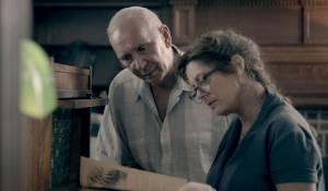 Robot and Frank: Frank Langella (Frank) en Susan Sarandon (Jennifer)