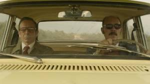 Alfredo Castro (Sinclair) en Darío Grandinetti (Claudio)