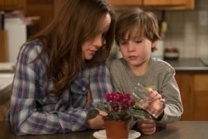 Brie Larson (Ma) en Jacob Tremblay (Jack)