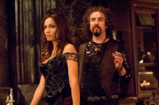 Steve Coogan en Rosario Dawson in Percy Jackson & the Olympians: The Lightning Thief