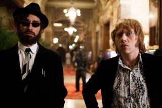 Robert Sheehan en Rupert Grint in Moonwalkers