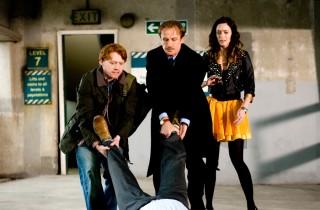 Emily Blunt, Rupert Grint en Bill Nighy in Wild Target