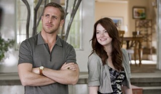 Ryan Gosling en Emma Stone in Crazy, Stupid, Love.