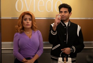 Salma Hayek en Karan Soni in Like a Boss
